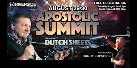 Apostolic Summit with Dutch Sheets tickets