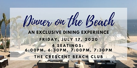 Dinner on the Beach (Friday 7/17) tickets