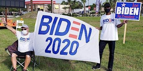 DEMOCRAT & BIDEN SIGN WAVING in ORANGE CITY, Florida tickets