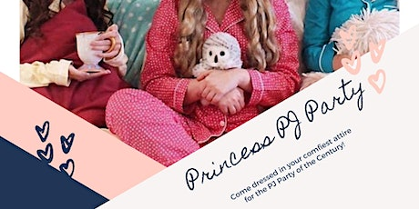 Princess Pyjama Party with Little Mermaid tickets