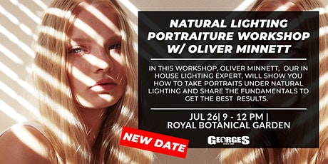 NEW DATE & SITE - Natural Lighting Fundamentals Workshop w/ Oliver Minnett tickets