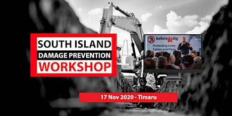 South Island Damage Prevention Workshop 2020 | NEW DATE tickets