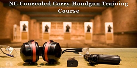 NC Concealed Carry Handgun Training Course tickets