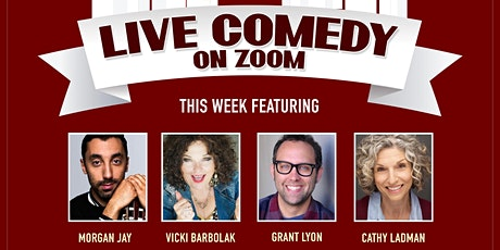 LIVE COMEDY ON ZOOM!  Virtual Comedy w/ Vicki Barbolak, Cathy Ladman & More tickets