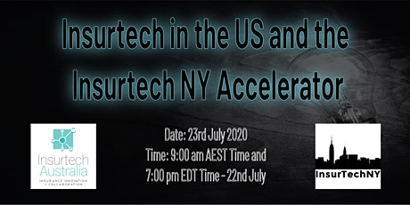 Insurtech in the US and the Insurtech NY Accelerator tickets