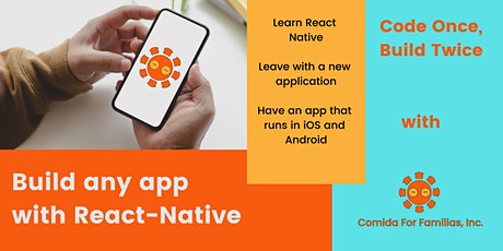 React Native Coding Session tickets