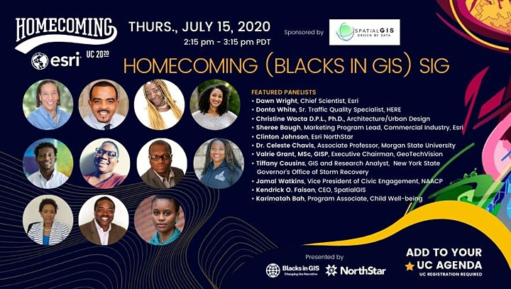NorthStar and Blacks In GIS present The Homecoming image