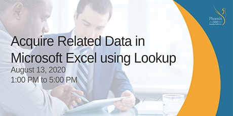 Acquire Related Data in Excel using Lookup tickets