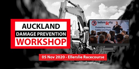 Auckland Damage Prevention Workshop 2020 | NEW DATE tickets
