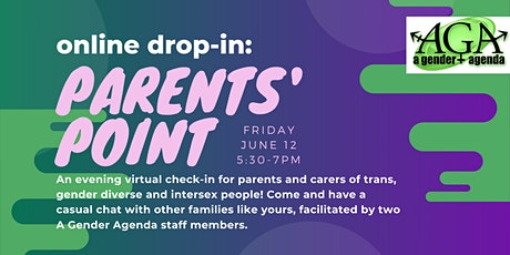 Online Drop-In: Parents' Point tickets