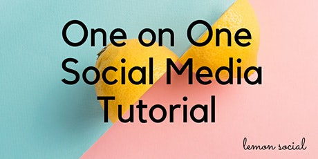Just for me - One on One Tutorials tickets