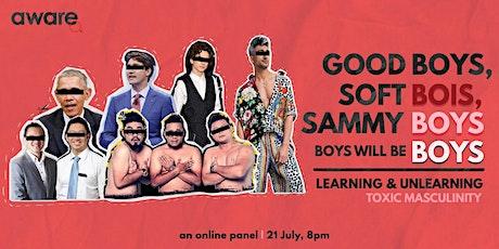 Good boys, softbois, sammyboys, boys will be boys: a panel tickets