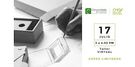 Diseño de empaques para domicilios tickets