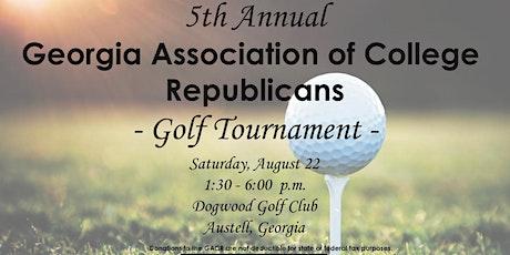 5th Annual GACR Golf Tournament tickets