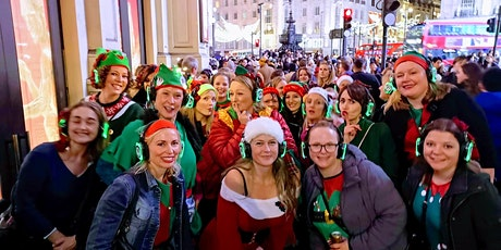 Boogie Shoes Silent Disco Walking Tour of London 2020 Christmas Cracker tickets