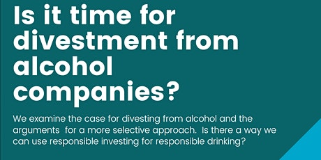 Is it time for divestment from alcohol companies? tickets