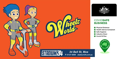 Wheelz World GA Tickets tickets