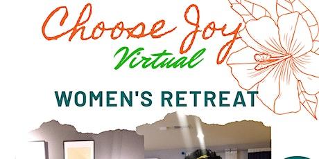 Choose Joy Virtual Women's Retreat 2020 tickets