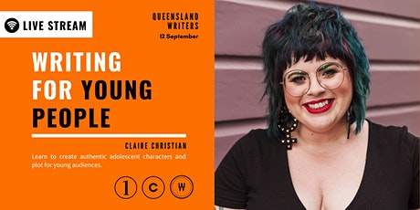 LIVE STREAM: Writing For Young People with Claire Christian tickets