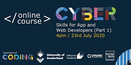 Cyber Skills for App and Web Developers (Part 1) tickets