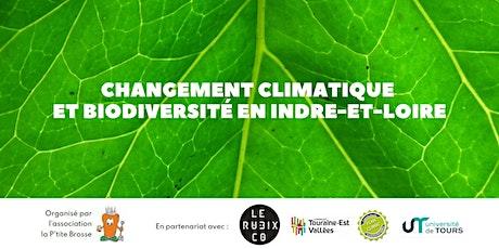 Changement climatique et biodiversité en Indre-et-Loire billets