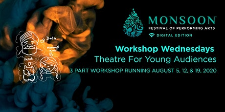 Workshop - Theatre for Young Audiences:  Creative Writing - Part 3 of 3 tickets