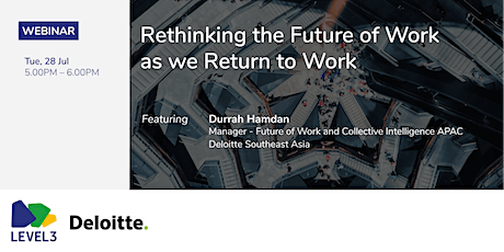 Rethinking the Future of Work as we Return to Work tickets
