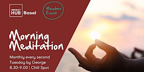 MEMBER ONLY: Morning Meditation Tickets