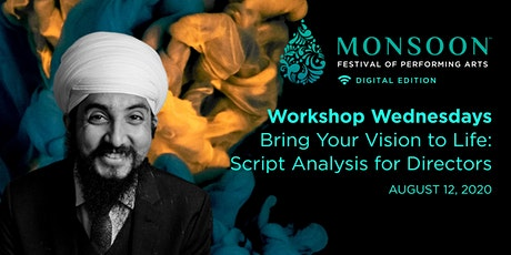 Workshop - Bring Your Vision to Life: Script Analysis for Directors tickets