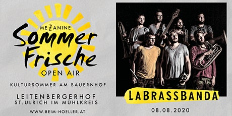 La Brass Banda | Mezzanine Sommerfrische Open Air tickets