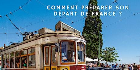 Comment préparer son départ de France au Portugal? tickets
