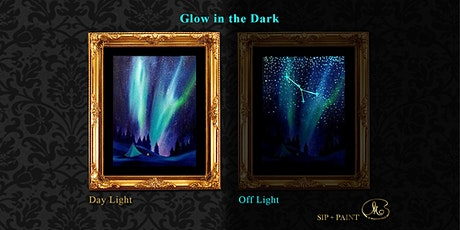 Sip and Paint (Glow in the Dark): Aurora (Saturday) tickets
