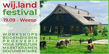 Wij.land festival tickets