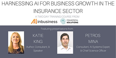 Harnessing AI for Business Growth in the Insurance Sector - Training Course tickets