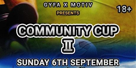 GYFA x MoTiv Community Cup II tickets