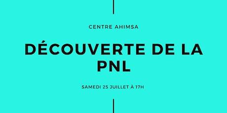 Soirée Découverte Formations PNL billets