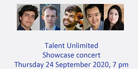 Talent Unlimited Showcase Concert: Miguel Sobrinho, Sirius Chau and friends tickets