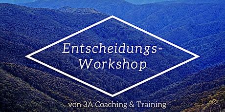 Entscheidungs-Workshop Tickets