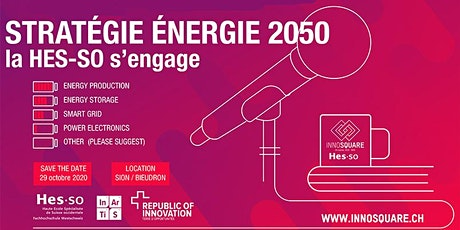 ÉNERGIE 2050 la HES-SO et Inartis s'engagent Tickets