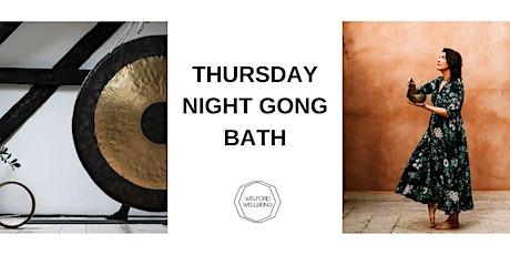 Thursday Night Gong Bath tickets