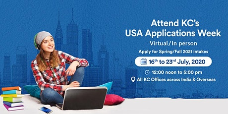 Attend USA Application Week from 16th to 23rd July 2020 tickets