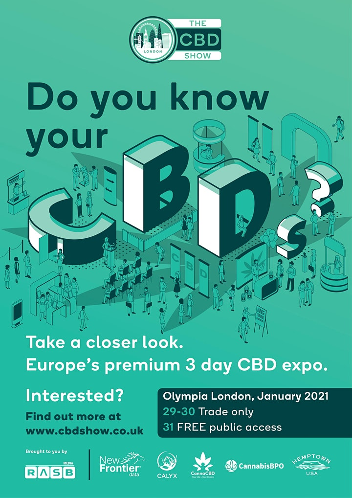 The CBD Show - Day 1 & 2 Business  Access image