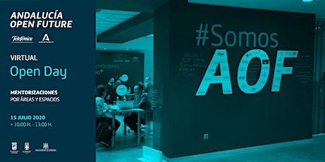 Open Day virtual de Andalucía Open Future entradas