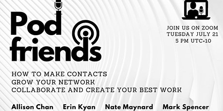 Pod friends - how to make contacts, grow your network, and collaborate tickets