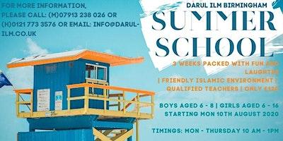 Darul Ilm Birmingham Summer School