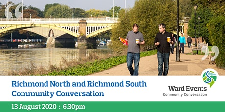 Richmond North and Richmond South Virtual Community Conversation tickets