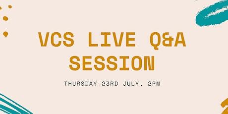 VCS Q&A Session tickets