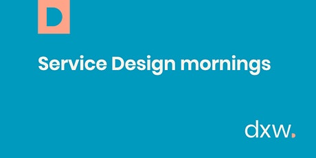 Service Design mornings tickets