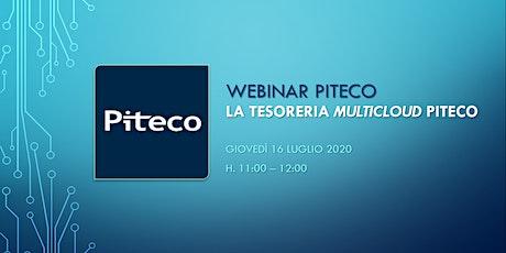 "Webinar   La tesoreria ""multicloud"" Piteco biglietti"