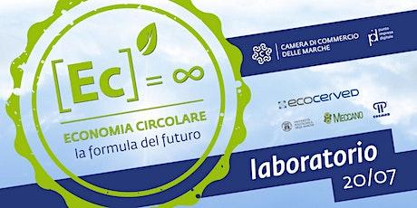 """Laboratorio del Ciclo di Webinar: """"Introduzione all'Economia Circolare """" biglietti"""